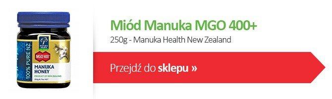 Miód Manuka MGO 400+