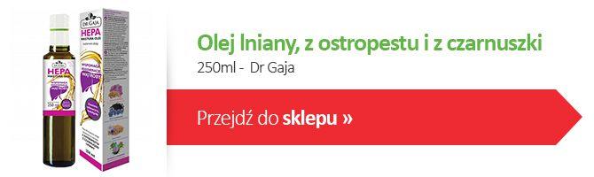 Olej lniany 250 ml dr Gaja
